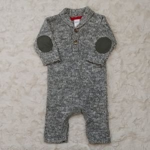Carter's Fall/Winter Knit Overall Size 3 Months